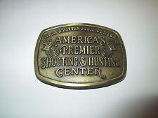BELT BUCKLE NRA WHITTINGTON CENTER AMERICA'S PREMIER SHOOTING & HUNTING CENTER