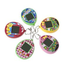 LCD Virtual Digital Pet Egg Handheld Electronic Game Machine Toy With Keychain