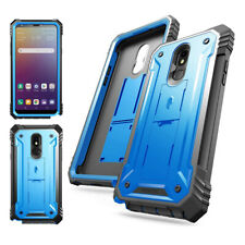 LG Stylo 5 Case Poetic [Revolution] Full-body Rugged Shockproof Cover Blue