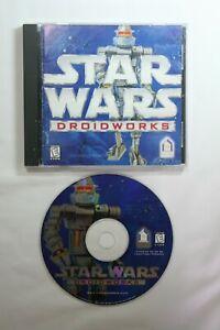 Star Wars Droidworks CD 1993 Win 3.x 95 Mac Droid Factory Game Manual