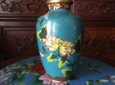 "Japanese cloisonne vase 6"" antique"
