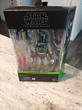 "STAR WARS BLACK SERIES BOBA FETT RETURN OF THE JEDI 6"" DELUXE FIGURE #06 IN HAND"