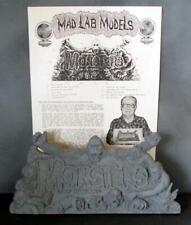 Famous Monsters of Filmland - Rare Resin Tribute Plaque - Mad Lab Models 1990