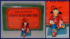 """King & Country Streets of Old Hong Kong """"HK081G Little Girl Sitting"""" *S6*"""