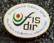 2016 Rio Olympics FIS DIR Italian Federation of Sports pin