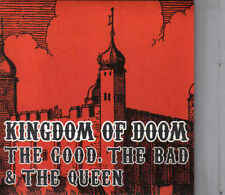 The Good The Bad &The Queen-Kingdom Of Doom cd single