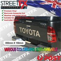 TOYOTA Tailgate Sticker Decal for HILUX SR5  SR 4x4 Rouge Rugged Tacoma