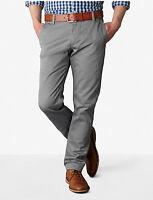 Dockers Alpha Stretch Khaki Slim Fit Tapered Leg Men's Grey Pants NWT