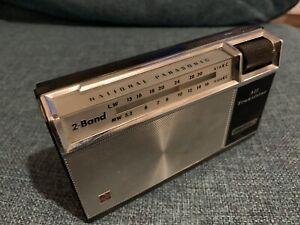 Vintage National Panasonic All Transistor Radio