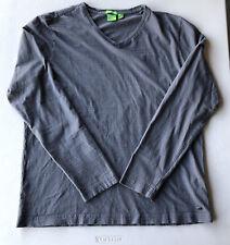 Men's HUGO BOSS Modern Fit Long Staple Cotton V-Neck Tee Shirt Pre-Owned Size XL