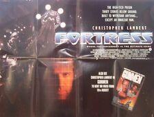 Christopher Lambert  FORTRESS(1992) Original UK quad movie poster