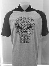 The Punisher Marvel Hooded t shirt New