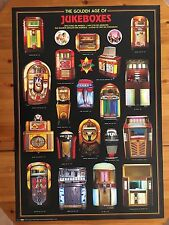 THE GOLDEN AGE OF JUKEBOXES,RARE AUTHENTIC 1997 POSTER