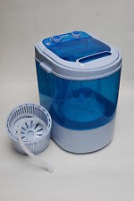 PORTABLE 230V MINI 3KG WASHING MACHINE FOR FLATS HOME SMALL KITCHEN SPIN DRYER