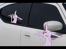 "Pokemon Espeon Anime 7"" Window Car Decal, Sticker, Eevee Evolution, Pokemon Go"