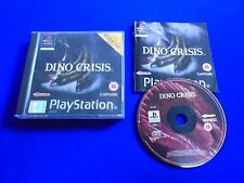 ps1 Dino Crisis 1 Survival Horror COMPLETE Games Capcom PAL ps2 ps3