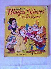 Álbum Panini Blanca Nieves y los siete enanitos Walter Disney