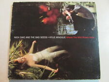NICK CAVE AND BAD SEEDS+KYLIE MINOGUE WHERE THE WILD ROSES GROW 3 TRK CD SINGLE