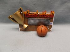 basketball trophy award full color cup resin