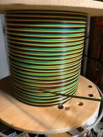 American Flyer No 24 FC4C Flat 4 color rainbow wire Green,Yellow,Red,Bk 100 Ft