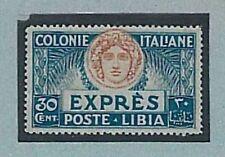 Varietà ITALIA - LIBIA : Sassone ESPRESSO 3b - Ritocco - Nuovo non linguellato