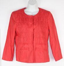 TAHARI Long Sleeve cardigan suit open front Women size 8