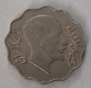 IRAQ-FAISAL I (1921-1933)  NICKEL 10 FILS 1933 VERY FINE - KM # 98