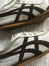 Women's Asics Onitsuke Tiger White / Brown Trainers  Size US 5 EURO 37.5 UK 4