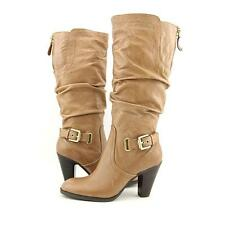 GUESS 100% Leather Knee High Boots for Women