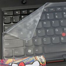 """Clear Protector Cover Universal Laptop Silicone Keyboard Skin for 14"""" 15"""" 17"""""""