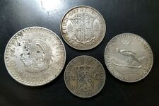 Lot of (4) Silver World Coins | Austria, Great Britain, Mexico, Netherlands