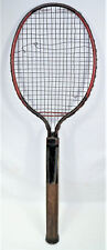 Unique 1925 Dayton Ohio Tennis Racquet Steel Frame, Wire Strings, Wm. Larned