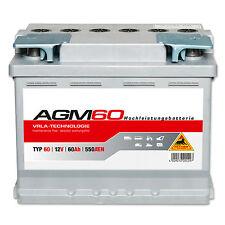 Panther AGM 60 - 12 V / 60 Ah - 550 A/EN Solar Auto Traktor Boot Reha Batterie