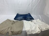 Lot Of 3 Womens Shorts Size 16