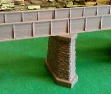N Gauge Bridge Support Pier Model Railway Girder Support Brick Stone Detail
