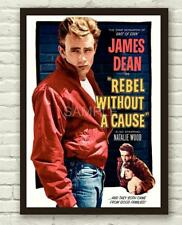 Rebel without a cause James Dean movie poster #3
