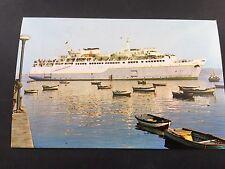 """Denizyollari"" Turkish  Maritime Lines Turkey postcard"