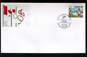 CANADA 1976 Olympics, FDC  20c single #682 LOT 501