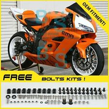 Orange Glossy INJECTION Fairing Kit Fit Honda CBR1000RR 2004-2005 98 A5