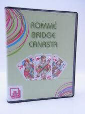 LOT 14527 NSV Nürnberger Romme Bridge Canasta 2x55 Blatt im Etui grün Card Spiel