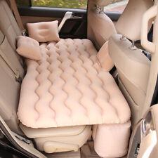 Air Materasso Gonfiabile Auto Per Sedile Posteriore Letto 2 Cuscini Camping O7Q4