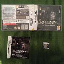 Last Window: El Secreto De Cape West DS NDS Completo!!!