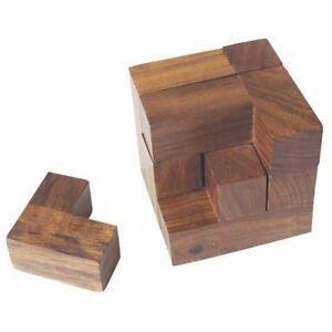 Sea Club Knobel-Spiel,Holz,Würfel,6x6x6cm,Holzspielzeug,tolles Geschenk neu &UVP