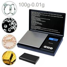 100g/0.01 Mini Pocket Stainless Steel Digital Jewelry Gold Weighing Weigh Scales