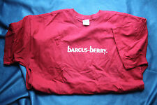 Barcus Berry Trademark Short Sleeve Tee Shirt, Red, XL, 100% Cotton