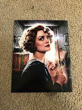 Alison Sudol  Autographed 11x14 Photo Actress Fantastic Beast JK Rowlling PROOF