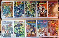 Sovereign Seven Comic Lot 1-27, 29-36 + Annual # 1   VF+/NM (S271)
