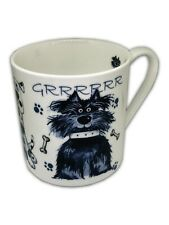 BN Very Large 18oz Boxed Mug Cartoon Dog Design, Bone China Pint Dog Mug