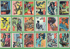 #II.   SET(44)  SCANLENS 1966  BATMAN  RED BAT CARDS