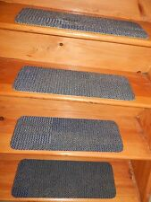 "13 Step Indoor Stair Treads  Staircase Rug Carpet 8""X 24"" + Landing 24''x 24''."